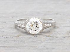 1.45 Carat Vintage Engagement Ring