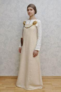 "Birka woman clothes, viking period. Pinned from vk.com group ""Vikings X Birka"""