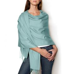 Mint Wrap Scarf.