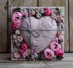 Flower Box Gift, Flower Boxes, Diy Flowers, Flower Decorations, Wreath Tutorial, Autumn Theme, Flower Art, Special Gifts, Flower Arrangements