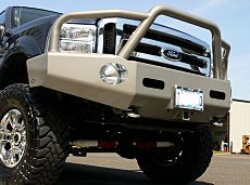 Heavy-Duty Winch Bumpers and Rear bumpers for Ford Superduty Trucks F250 F350 F450 F550 Excursion - Buckstop Truckware