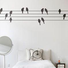Powerbirds Wallsticker