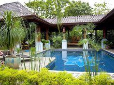 Atenas villa rental - Pool and garden