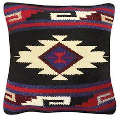 Bohemian Moroccan Geometric Kilim Pillows www.theHuntedFOX.com