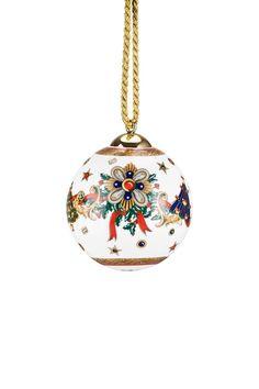 Versace Christmas Porcelain Ornament - Ornament Reviews