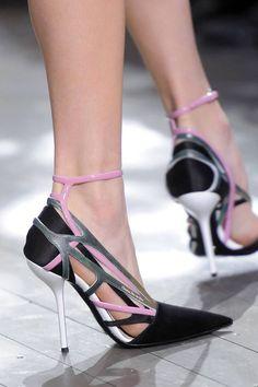 Mezclado encantos del zapato 3d Colgante Taco Alto Sandalia Sin Puntera sling-back Wellie Botas
