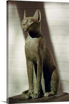 Statues, Cairo Museum, Ancient Egyptian Art, Ancient Beauty, Wall Art Prints, Canvas Prints, Framed Prints, North Africa, Cat Art