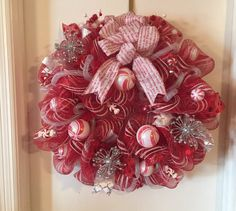 Christmas wreath by MariBearDesigns on Etsy