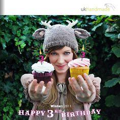 UKhandmade magazine winter/2011 * felt pinecones * felted purses * strategies for shop keepers