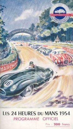 Les 24 Heures du Mans 1954