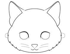 Mascaras de animales para colorear | Bebeazul.top Tea, Games, Printable Masks, Mascaras, Printables, Costumes, Colors, Craft, Plays