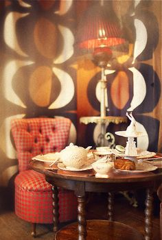 Arty afternoon tea at Sketch, Conduit Street, London.