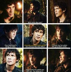 Best Line: Our princess has that effect. Bellamy.  The 100.