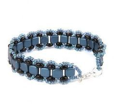 Learn how to make this Navy Bliss Bracelet | Beads Direct