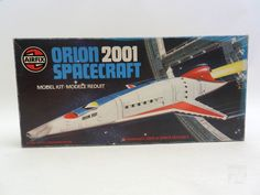 Vintage AIRFIX ORION 2001 SPACECRAFT OVP - cyan74.com vintage and pop culture