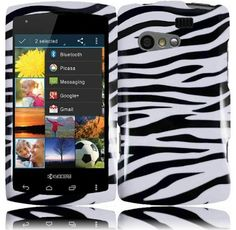 Zebra Hard Case Snap On Cover For Kyocera Rise C5155 by HR. $0.20. The Hard Cover Case provides the maximum protection against scratches and scuffs, enabling you to keep your phone in new condition and well preserving its looks and features. Made with abs plastic, this case is not only durable, long lasting, but also equips the cell phone with stylish looks. All the openings for the dock connector, charger, side buttons, speaker, microphone and camera were preci...
