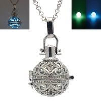 Condition: 100% Brand New Main Material: Environmental copper 1pcs locket+1pcs necklace+2 Beads Size