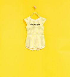 GESTREEPTE TUINBROEK-NIEUW-BABY MEISJE | 3 maanden - 4 jaar-KINDEREN | ZARA Nederland