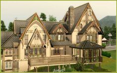 Magic house by JarkaD - Sims 3 Downloads CC Caboodle