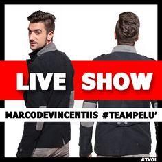 #MarcoDeVincentiis #TeamPelù #LiveShow #TVOI