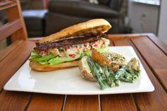 Crab Louie Sandwich