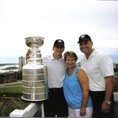 Photo of Sidney Crosby & his  Mother  Trina Forbes-Crosby
