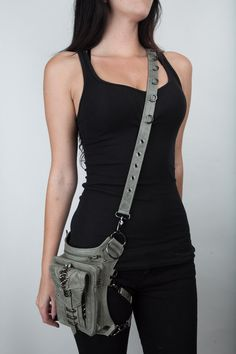 Shark Bite Holster and Hip Bag by JungleTribe on Etsy, $319.00