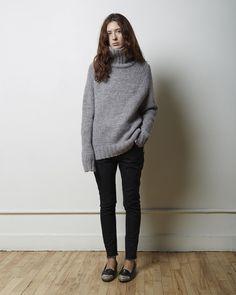 LA GARÇONNE MODERNE | Didion Chunky Turtleneck | Shop at La Garçonne