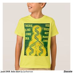 junk DNA  kids shirt