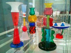 Italian glass at Design Museum Ghent, Belgium: http://www.europealacarte.co.uk/blog/2012/11/14/design-museum-ghent/