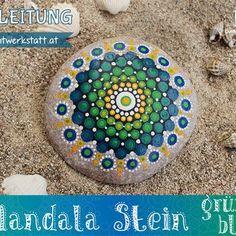 Mandala Stein Anleitung