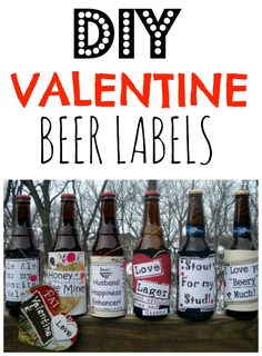 My Valentines Day Beer Labels are now on sale on Etsy.   Please order yours soon!  Last year I had so many orders close to Valentines Day it was hard to ship them in time!.  Click here  Lets be realistic here. Valentines day is a women's holiday ( and I am not saying we don't deserve to get flowers and chocolates)  But lets not pretend that our guys will be wanting chocolate, flowers or a stuffed teddy bear.  My husband Greg is not a big drinker, but he does like to open a nice Pale ale or…
