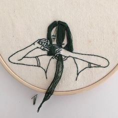 """19.1 k mentions J'aime, 281 commentaires - Rated: Modern Art (@ratedmodernart) sur Instagram: """"Embroidery art by Sheena Liam"""""""