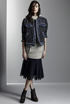 LOOK | 2015 PRE-FALL COLLECTION | REBECCA TAYLOR | COLLECTION | WWD JAPAN.COM