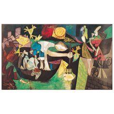 PICASSO - Night fishing at Antibes 75x45 cm #artprints #art #prints #interior #design #Picasso Scopri Descrizione e Prezzo http://www.artopweb.com/autori/pablo-picasso/EC21847