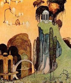 Kay Nielsen  Art Nouveau inspired fairy tale illustrations