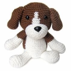 The first pattern in @FreshStitches #Crochet Dog Pattern Club is the Beagle