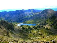Lake Bucura, Retezat Mountains, Romania