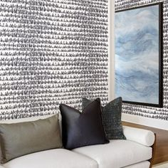 Paint Drops wallpaper from the Living With Art Wallpaper by Seabrook - Lelands Wallpaper. $49.95 per single roll. #wallpaper #homedecor #designwithwallpaper Condo Living Room, Paint Drop, Open Staircase, Jack And Jill Bathroom, Drops Patterns, Built In Desk, Modern Loft, Drip Painting, Abstract Nature