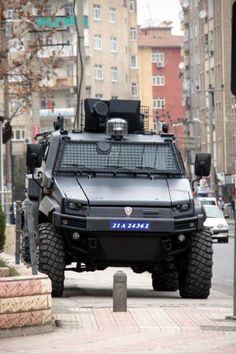 """Find and save images from the """"Police"""" collection by Tolga (okyanusmavisiinsan) on We Heart It, your everyday app to get lost in what you love. Army Vehicles, Armored Vehicles, Turkish Military, Turkish Army, Tactical Truck, Armored Truck, Bug Out Vehicle, Military Service, Military Weapons"""