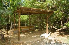 KNP - Letaba - Day Visitors Area Pergola, Leaves, Camping, Outdoor Structures, Park, Pictures, Campsite, Photos, Outdoor Pergola