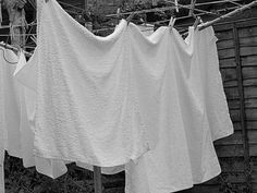Nappies made of terry towelling no disposables for us we were taught to do them like a kite and use a nappy pin they looked so nice on the line