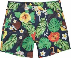 WESC TROPICAL BOARDSHORT MULTICOLOR | Swell.com I REALLY dig these.