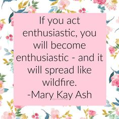 Kay Ash Pink Cadillac Wise words of wisdom from Mary Kay Ash Pic Monkey, Perfectly Posh, Mary Kay Ash Quotes, Selling Mary Kay, Mary Kay Party, Mary Kay Cosmetics, Beauty And Fashion, Beauty Consultant, Mary Kay Makeup