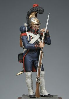 Sapper of engineers of the guard 1811, France.