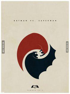 Batman vs. Superman poster