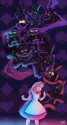 Tattoo disney alice in wonderland rabbit hole 67 Ideas Disney Fan Art, Disney S, Disney Love, Disney Magic, Alice Disney, Dark Disney, Lewis Carroll, Alice In Wonderland Cartoon, Alice In Wonderland Artwork
