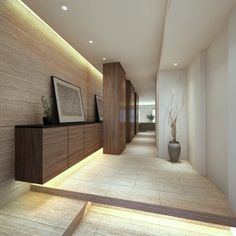 3Dデザイン実例 Foyer Design, Entrance Design, Home Room Design, House Design, Entrance Foyer, House Entrance, Japanese Interior, Japanese House, House Rooms
