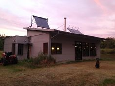 Home To The Off Grid Passive Prefab House!