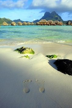 Early mornings in Bora Bora, French Polynesia